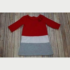 Gymboree The Holiday Shop Colorblock Fleece Dress